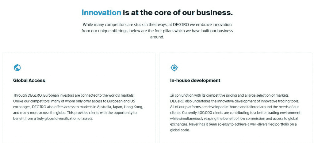 Trading Platform Features